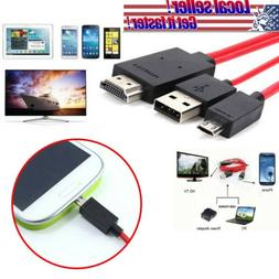1080P Micro USB MHL to HDMI Cable Adapter for Samsung Galaxy