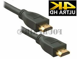 10ft 4K ULTRA HD HDMI 2.0 High Speed Cable Cord Ethernet 216