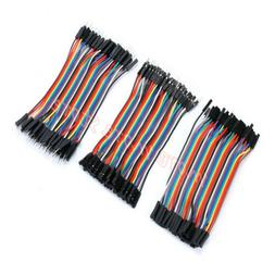 120PCS Dupont Wire Male to Male + Female to Female +Male to