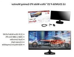 "LG 25UM56-P 25"" Class 21:9 Ultra-Wide HD IPS Gaming Display"