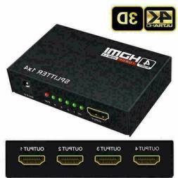 4K HDMI 2.0 Cable Repeater Mirror Splitter Amplifier HUB Box