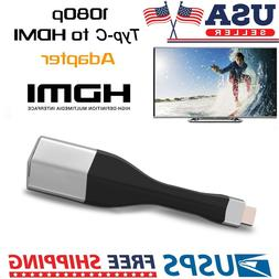 4K USB Type-C HDTV HDMI Cable Adapter For Samsung Galaxy S8/