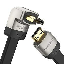 UGREEN HDMI Right Angle Cable 270 Degree Elbow Flat HDMI Cor