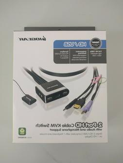 brand new nib 2 port hdmi cable