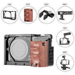 SmallRig Cage/Top Handle/Wooden Handgrip/HDMI Cable Clamp fo
