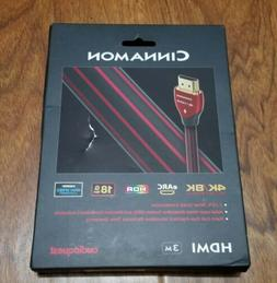 Audioquest Cinnamon Hdmi 4k Ultra High Definition Cable 3 Me