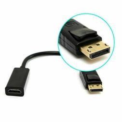Displayport Male to HDMI Female Cable Converter Adapter for