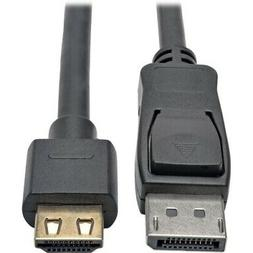 Tripp Lite DisplayPort to HDMI Adapter Cable Active DP 1.2a