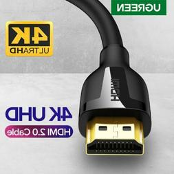 Ugreen HDMI 2.0 Cable 4K@60Hz 3D Effect Video Audio Cable Co