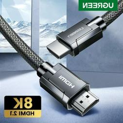 Ugreen HDMI 2.1 Cable 8K@60Hz HDR Premium High Speed 48Gbps