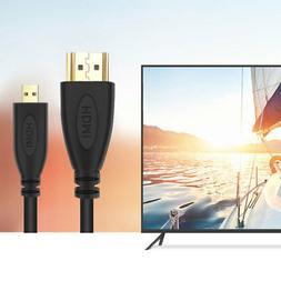 PwrON HDMI TV Video Cable Cord Lead for Panasonic HC-VX981 K