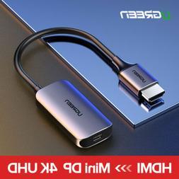 Ugreen HDMI to Mini DisplayPort Converter Adapter Cable 4K@3