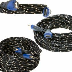 HDMI Premium Cable 1.5ft 3ft 6ft 10ft 15ft 20ft 25ft 30ft 35