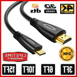 High-Speed Mini HDMI to HDMI Cable Adapter HDMI A to HDMI Mi