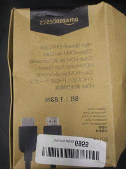 High-Speed Mini-HDMI to HDMI Cable - 6 Feet Amazon Basics