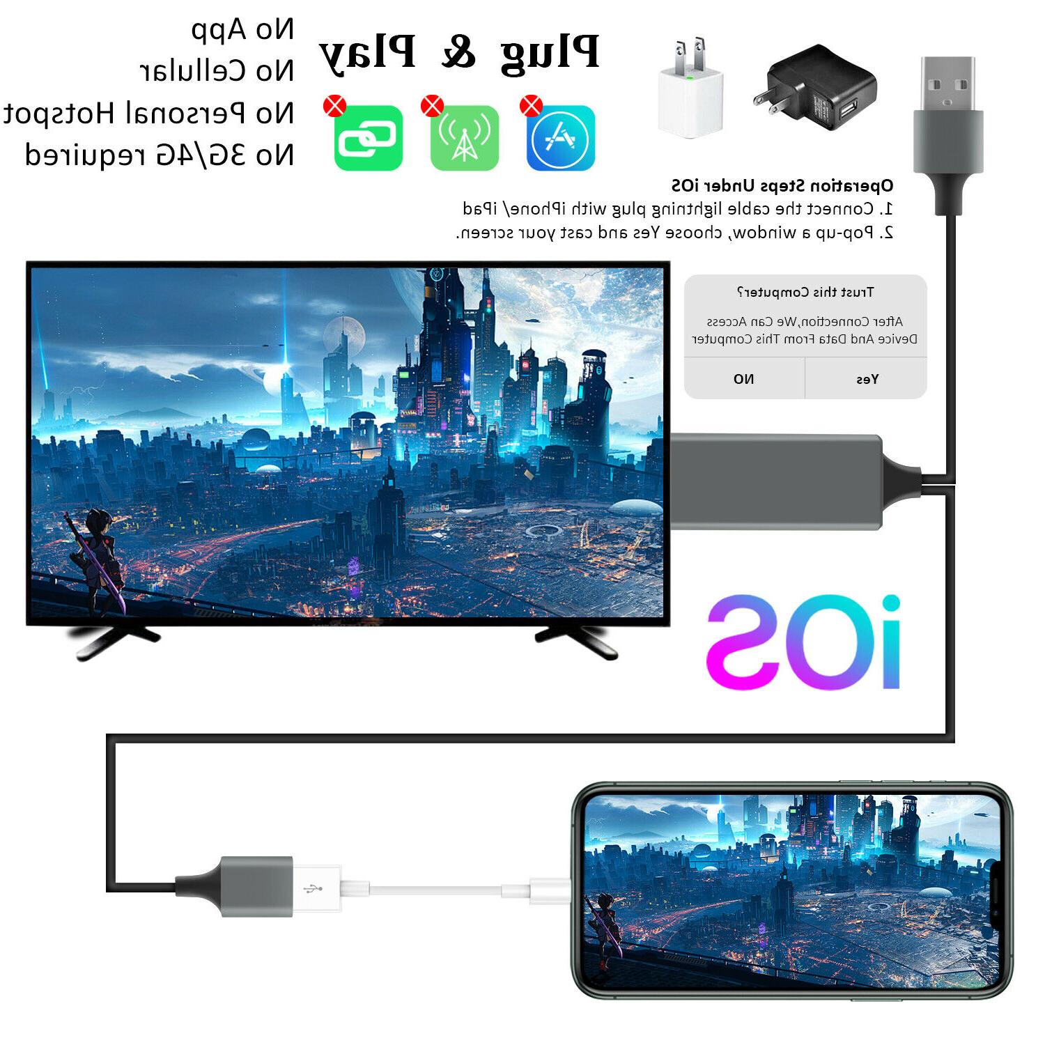 1080P Phone TV Adapter For