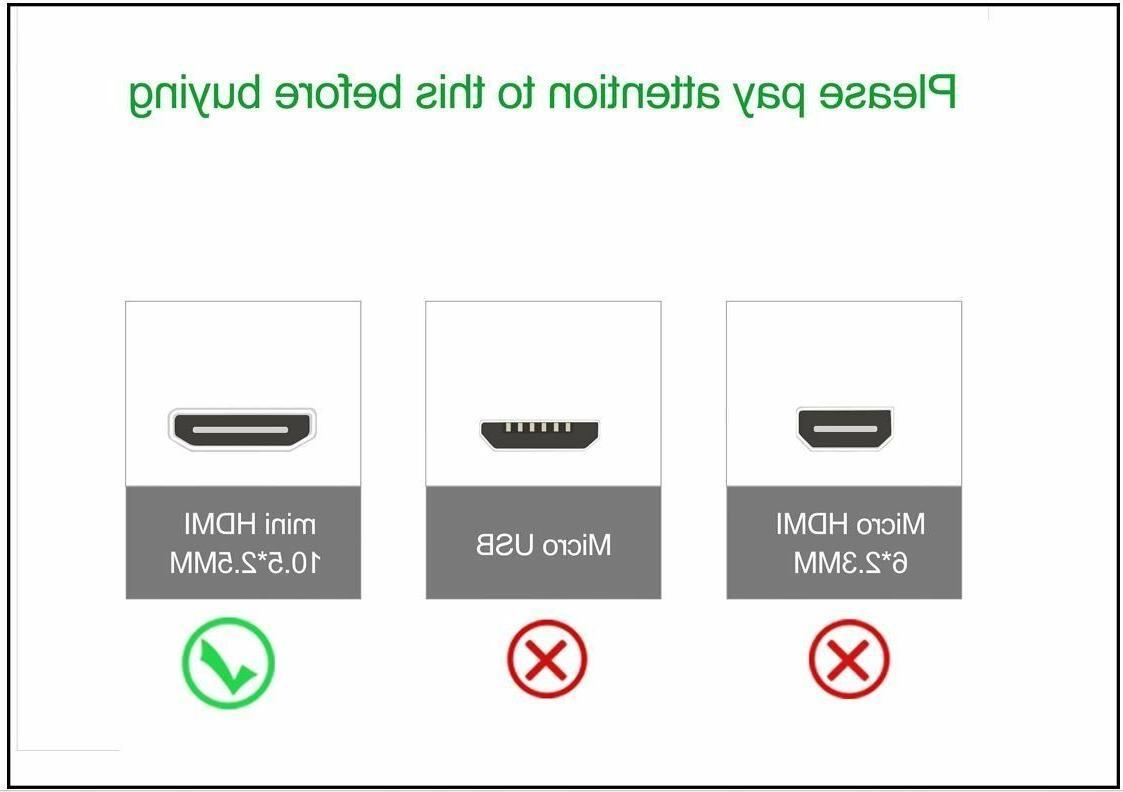 1080P HDMI AV HD Cord Lead Canon HTC-100 Camcorder Camera