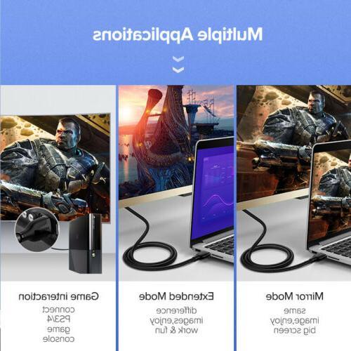 Ugreen 4K@60Hz 3D Audio Cable Apple TV PS4