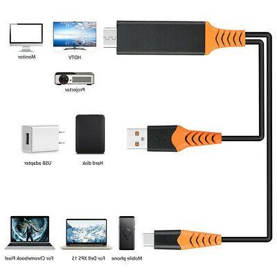 2 In 1 C AV TV Digital Cable Adapter Phones