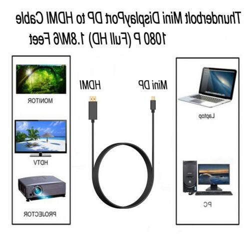 6FT/1.8M to HDMI Gold Full 1080P US