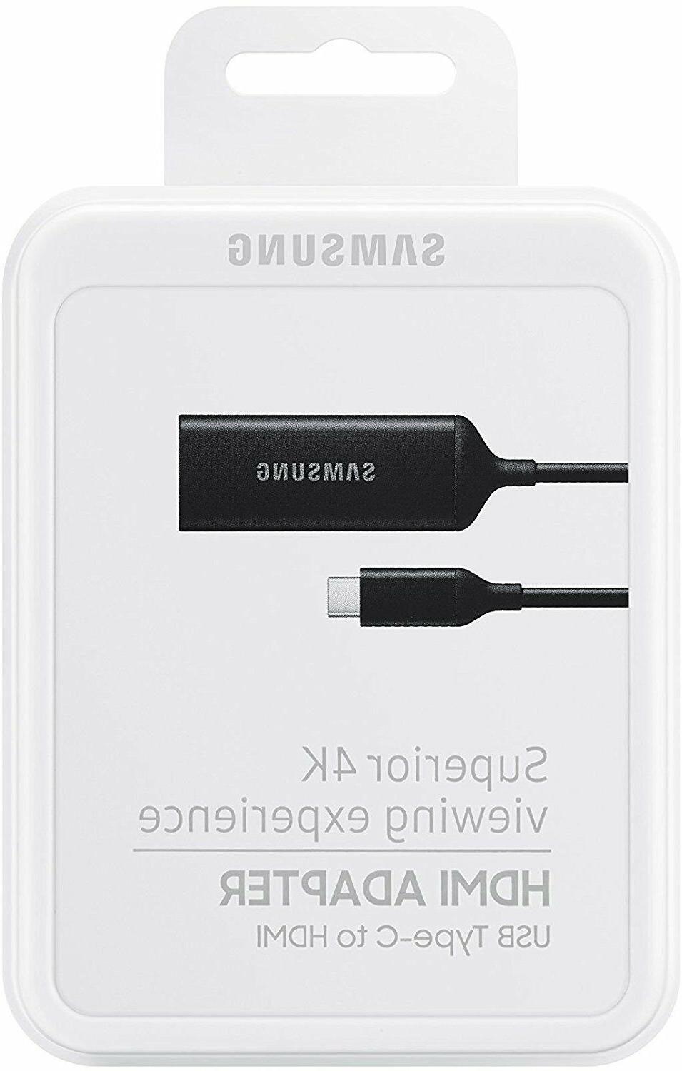 Samsung HDTV Adapter USB-C to HDMI up 4K S8/S8+/Note8/9/S9/S9+