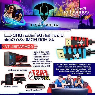 4K HDMI 2.0 2160P 3D LED HDTV 18Gbps 120Hz HDCP PS4 XBox