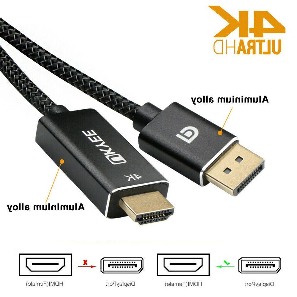 display port dp to hdmi cable adapter