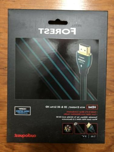 forest hdmi cable new in box 1m