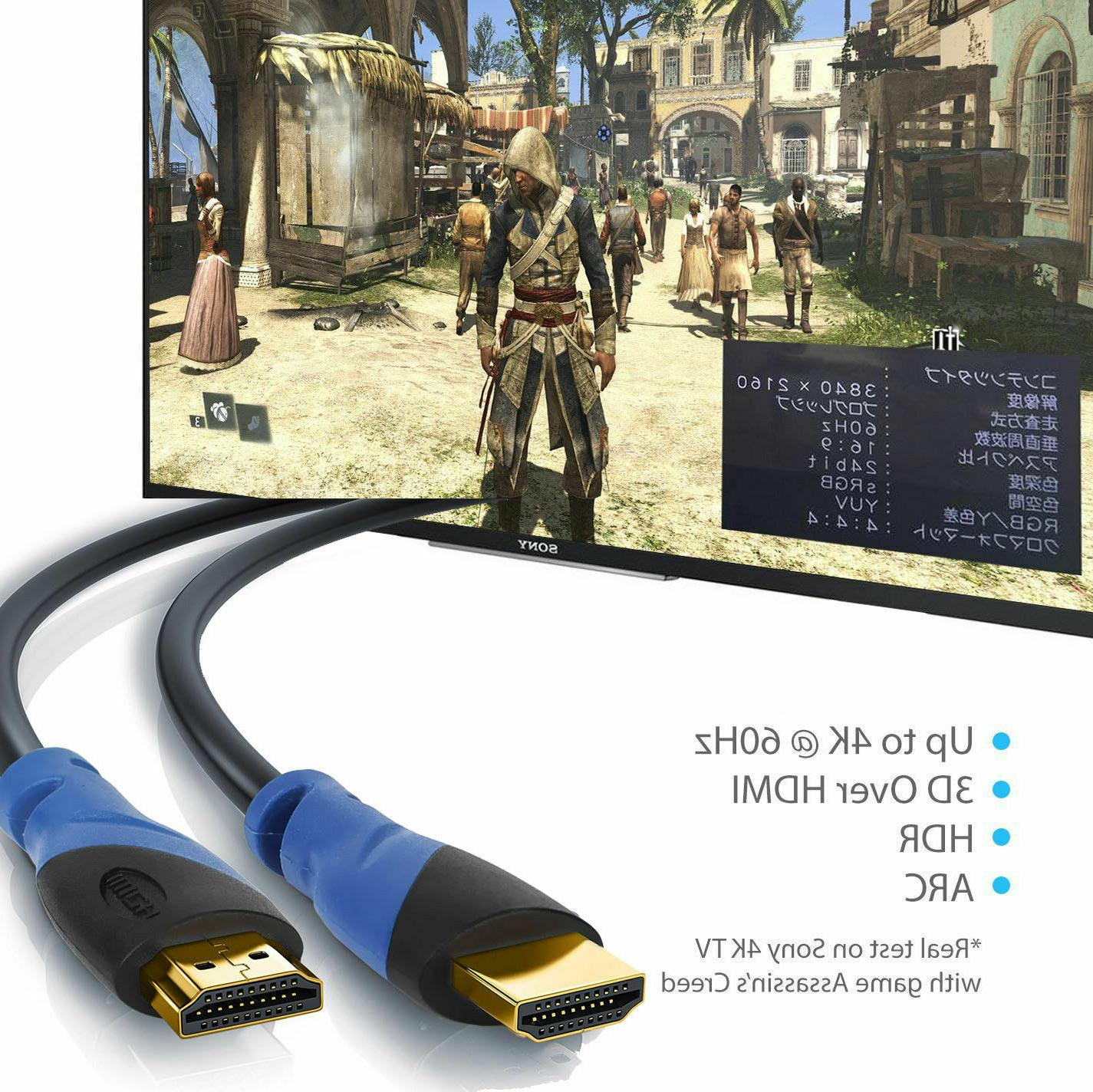 HDMI 1.4 6FT 10FT 30FT 75FT HIGH SPEED