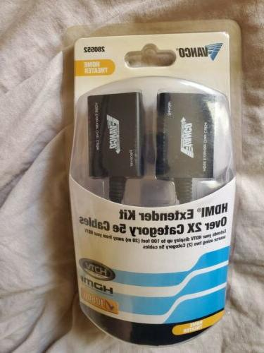 hdmi extender kit hdmi over cat5 or