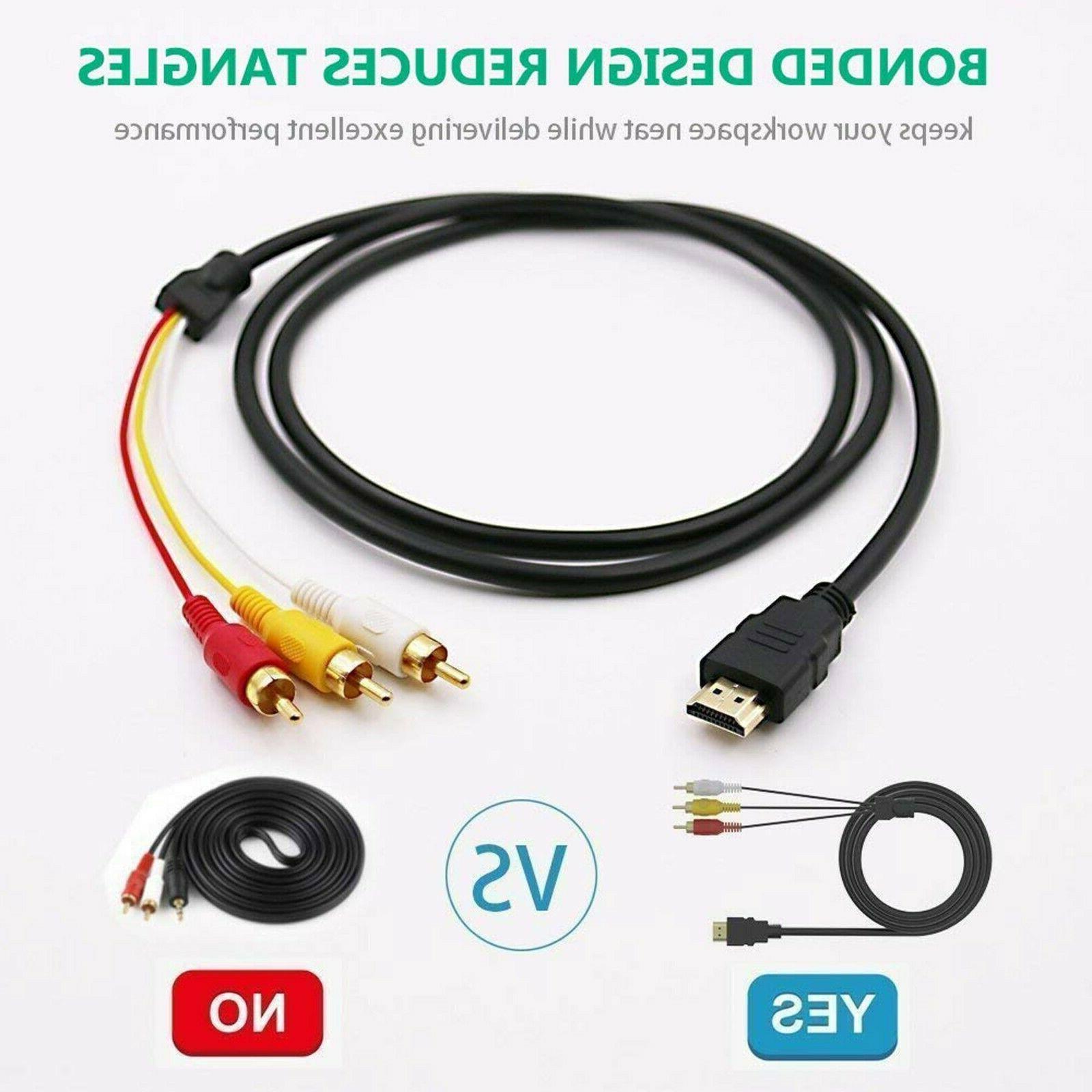 HDMI RCA Audio Component HDTV
