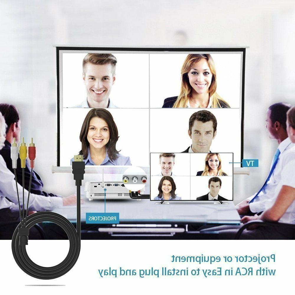 HDMI Male RCA HDTV
