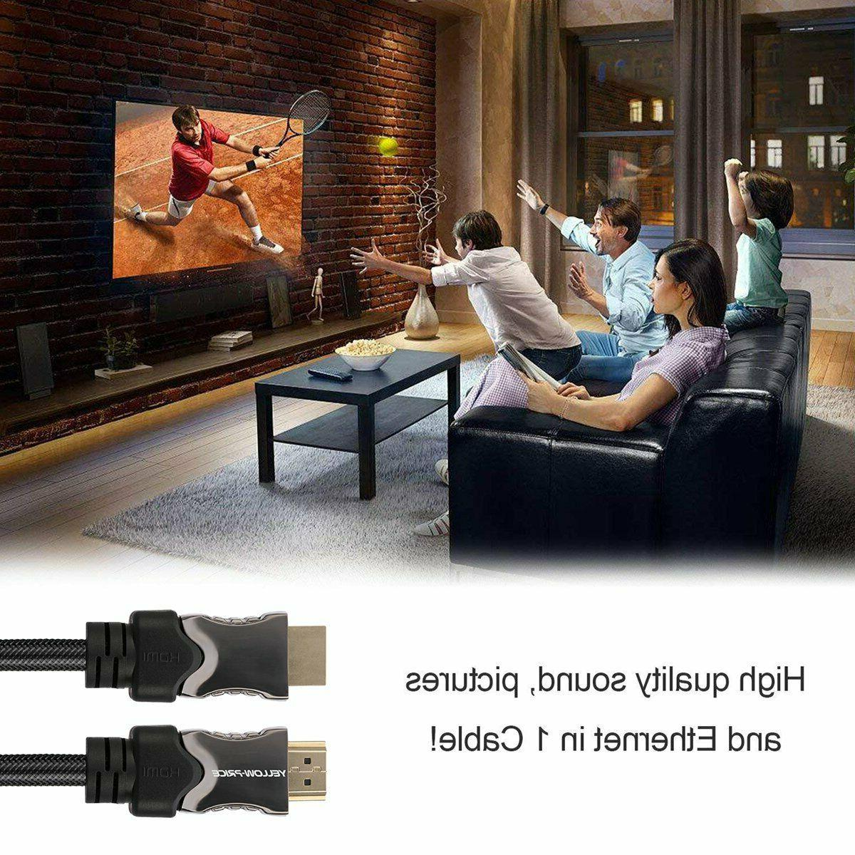 8K HDMI Cable 1ft 3ft 15ft