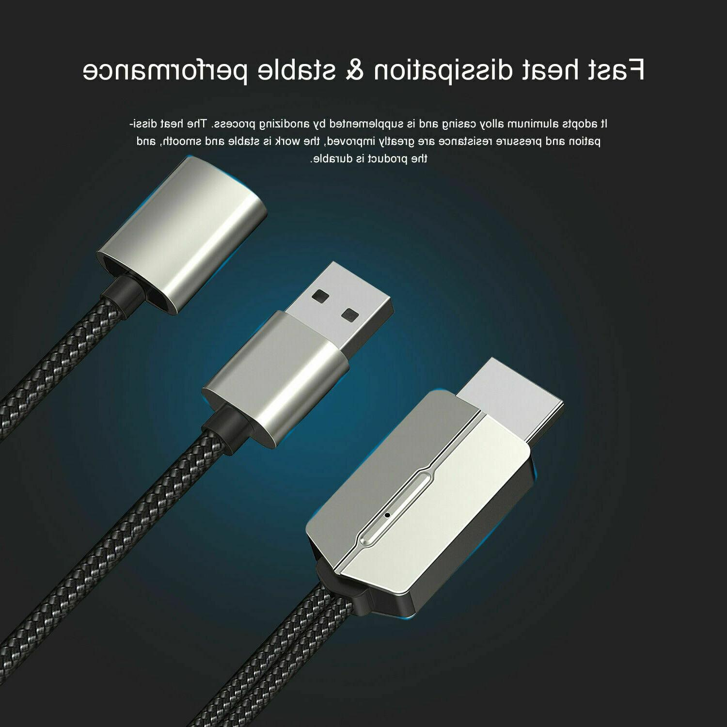 For iPhone/iPad/Android/Samsung HDMI Cable Phone to Adapter