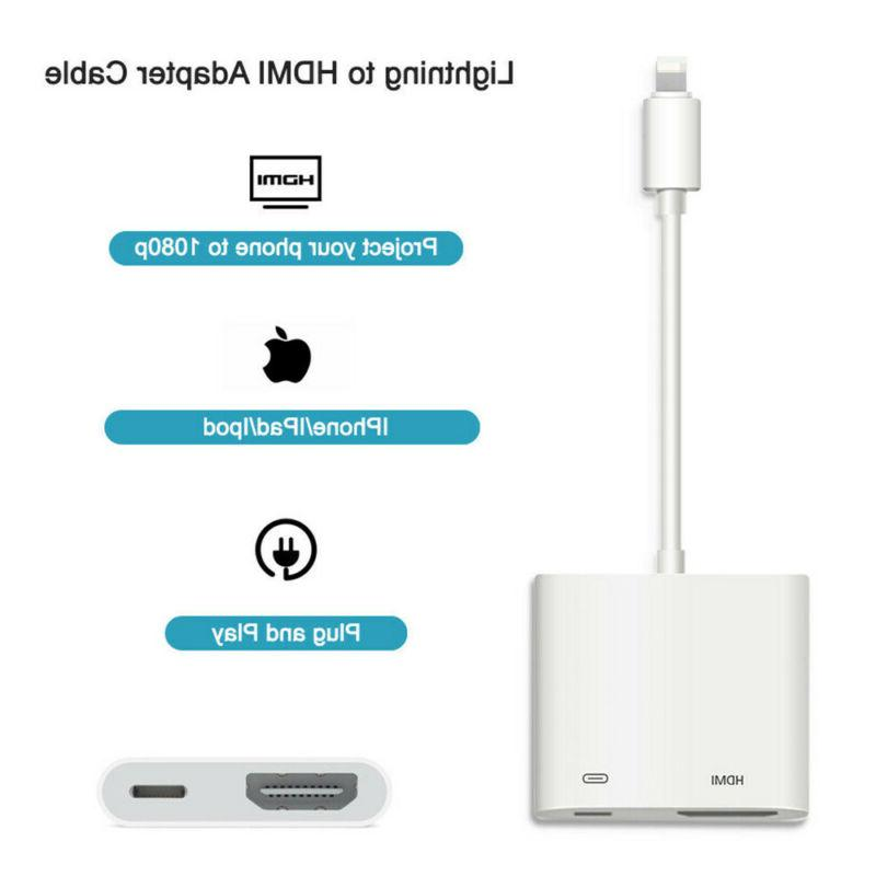 Lightning HDMI Digital TV For iPad iPhone Pro 6s