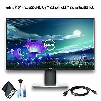 ultrasharp 27 monitor u2719d qhd 2560x1440 monitor