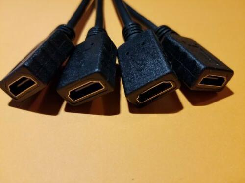VHDCI 4x Quad HDMI Cable Dell AMD Nvidia