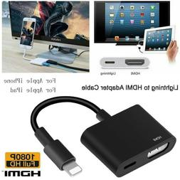 lightning to hdmi digital tv av adapter