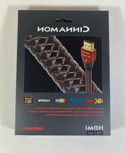 NEW! AudioQuest Cinnamon 4K HDMI Cable 1m