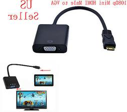 New Mini hdmi to VGA projector adapter for ASUS Eeepad TRANS