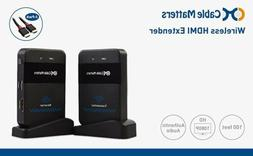 NEW Cable Matters Wireless Extender For HDMI Devices - 6ft H