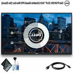 "Dell P Series 24"" Screen LED-Lit Monitor Black"