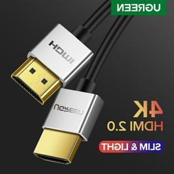 UGREEN Premium Metal HDMI Cable High Speed V2.0 4K 1080P 3D