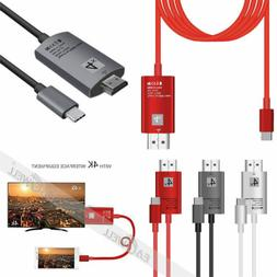 For Samsung Galaxy S10 S9+ Macbook Type-C USB-C to HDMI HDTV