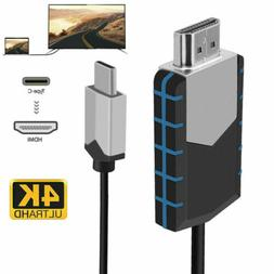 For Samsung Galaxy S8 S9+ Note 9 S10e Plus 4K USB Type C To