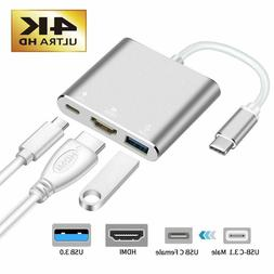 USB-C Type-C to HDMI HDTV Adapter Cable For Samsung S8 S9 S1