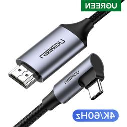 Ugreen USB Type C to HDMI Cable 4K 60Hz Adapter Converter Co