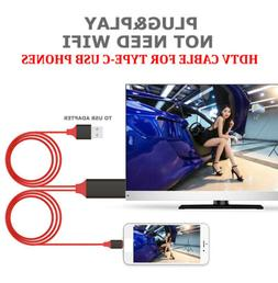 USB3.1 Type-C to HDMI Cable For Samsung Phone LG G5 G7 V20 1